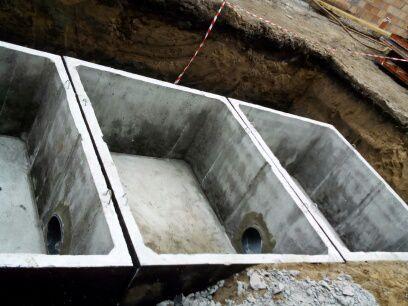 Betónový septik viackomorový