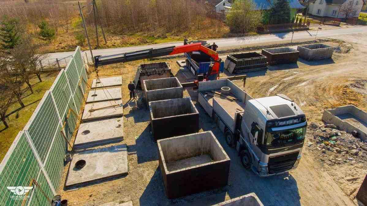Doprava betónovej žumpy od výrobcu