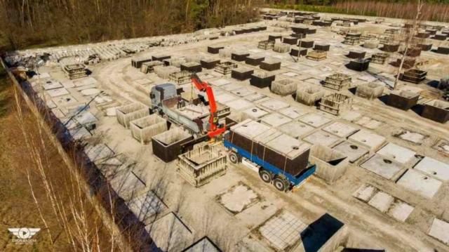 Výroba a doprava betónových septikov