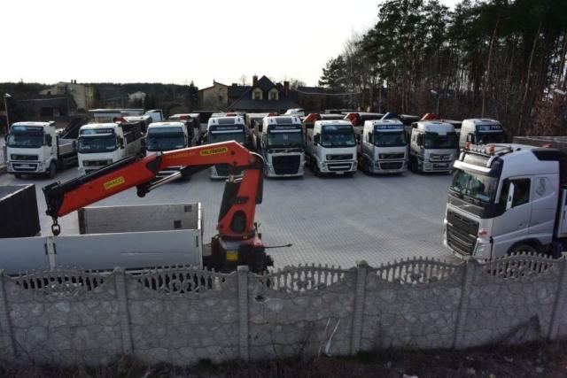Doprava betonových jímek - nakládání